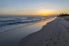 Vista da praia Imagem de Stock