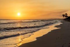 Vista da praia Imagem de Stock Royalty Free