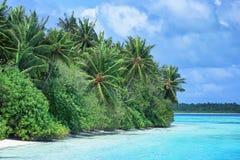 Vista da praia bonita Imagem de Stock Royalty Free
