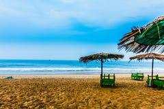 Vista da praia de Calangute Imagens de Stock Royalty Free