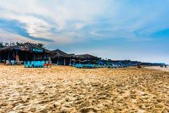 Vista da praia de Calangute Imagem de Stock Royalty Free