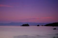 Vista da praia do Aphrodite Foto de Stock Royalty Free