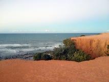 Vista da praia famosa do Pipa - para a Web foto de stock