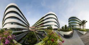 Vista da quarta universidade autônoma, terreno de SUTD em Singapura Imagem de Stock Royalty Free