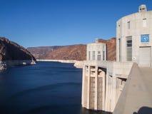 Vista da represa de Hoover Foto de Stock