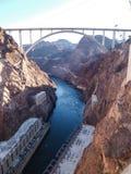 Vista da represa de Hoover Imagem de Stock