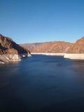 Vista da represa de Hoover Fotos de Stock Royalty Free