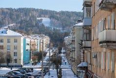 Vista da rua de Mayakovsky Imagens de Stock Royalty Free