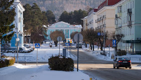 Vista da rua de Reshetneva Fotografia de Stock