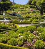 Vista da rua do Lombard Imagem de Stock Royalty Free