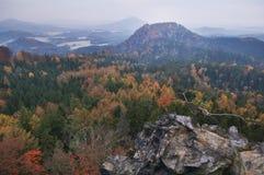 Vista da Rudolfuv Kamen Fotografia Stock
