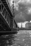 Ponte di Troitskiy Fotografie Stock Libere da Diritti