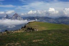 Vista da Stoos in Svizzera Fotografia Stock