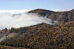 Vista da superiore di cui sopra alle nubi Immagine Stock