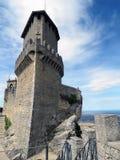 Vista da torre de Guaita foto de stock royalty free