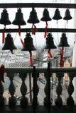 Vista da torre de sino da catedral Imagens de Stock Royalty Free