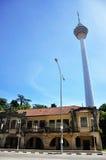 Vista da torre do quilolitro - 018 Foto de Stock