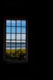 Vista da una finestra fotografie stock libere da diritti