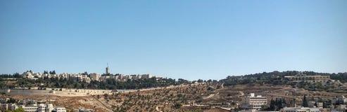 Vista da universidade hebreia Imagem de Stock