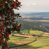 Vista da varinha de Hohe na Baixa Áustria imagens de stock royalty free