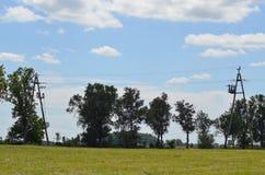 Vista da vila Fotos de Stock Royalty Free