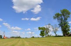 Vista da vila Foto de Stock Royalty Free