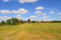 Vista da vila Imagens de Stock Royalty Free