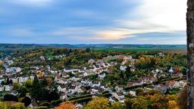 Vista da vila de Provins Imagem de Stock Royalty Free