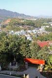 Vista da Wat Phra That Doi Wao Immagine Stock