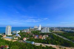 Vista dagli hotel Fotografia Stock