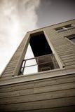 Vista dal balcone Fotografia Stock Libera da Diritti