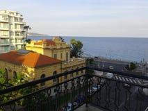 Vista dal balcone, Nizza Immagini Stock Libere da Diritti