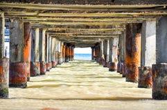 Vista dal basso dell'ancoraggio dentro Immagini Stock