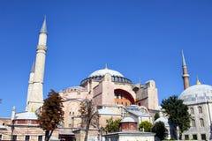 Vista dal basso di Hagia Sophia Ayasofya Fotografia Stock