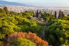 Vista dal castello di Kadifekale, localmente conosciuto come Kadifekale immagine stock libera da diritti