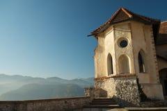 Vista dal castello sanguinato Immagini Stock