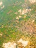 Vista dal cielo Fotografia Stock Libera da Diritti