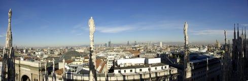 Vista dal Duomo Fotografie Stock Libere da Diritti