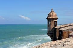 Vista dal EL Morro Fotografia Stock