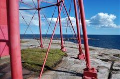 Vista dal faro Fotografie Stock