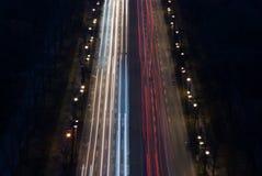Vista dal monumento Berlino di vittoria Fotografie Stock