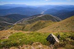 Vista dal Mt Feathertop Fotografie Stock