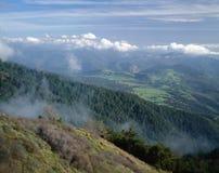 Vista dal Mt. Palomar Immagine Stock Libera da Diritti