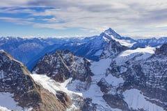 Vista dal Mt Titlis Fotografia Stock