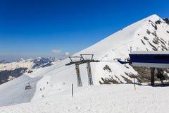 Vista dal Mt Titlis in Svizzera Immagine Stock