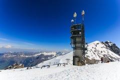 Vista dal Mt Titlis in Svizzera Immagini Stock Libere da Diritti