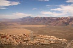 Vista dal picco di Turtlehead nel parco rosso del canyon della roccia Immagine Stock Libera da Diritti