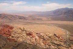Vista dal picco di Turtlehead nel parco rosso del canyon della roccia Immagini Stock Libere da Diritti