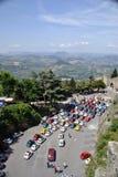 Vista dal San Marino Tower fotografia stock
