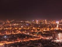 Vista dal tetto Ekaterinburg fotografie stock libere da diritti
